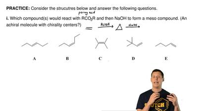 Consider the strucutres below and answer the following questions.   i. Which c...