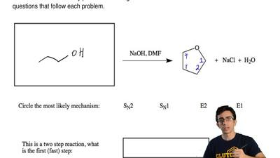 Provide likely product or starting material and circle the correct answers to ...