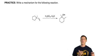 Write a mechanism for the following reaction. ...