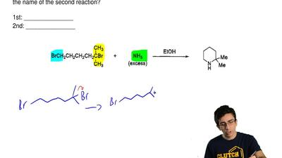 Consider the reaction below and answer the associated question.  Provide the a...