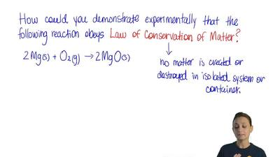 Which procedure can be used to demostrate experimentally that this reaction ob...