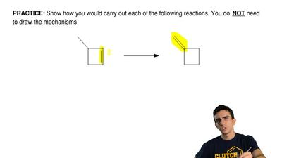 Show how you would carry out each of the following reactions. You do   NOT nee...