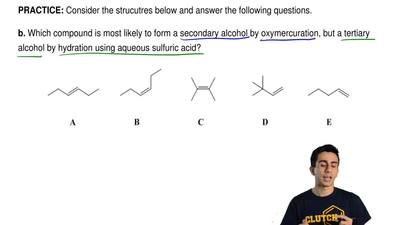Consider the strucutres below and answer the following questions.   b. Which c...