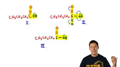 Which choice ranks these compounds from strongest to weakest acid?  a) I > ...