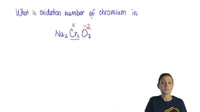 What is the oxidation number of chromium in Na 2Cr2O7?  (A) +12  (B) +6  (C) +...