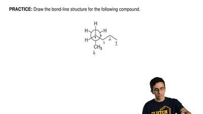 Draw the bond-line structure for the following compound. ...