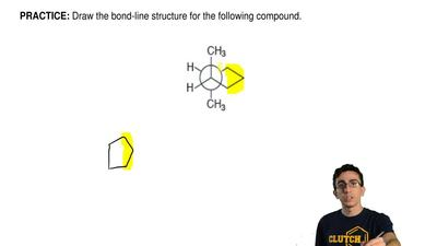 Draw the bond-line structureforthe following compound. ...