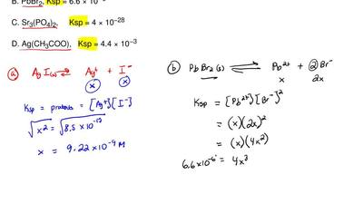 Which of the following compounds has the lowest solubility in water?  A. AgI...