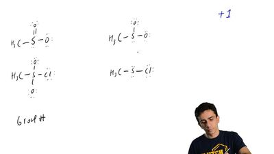 In which of these Lewis structures would the sulfur be assigned a formal charg...