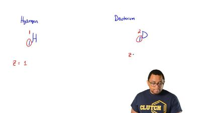 Which term best characterizes the relationship of hydrogen to deuterium?  (A) ...