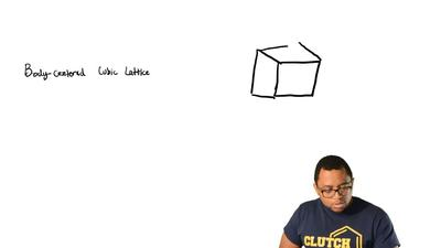 What is the number of nearest neighbors in a body-centered-cubic lattice?  (A)...