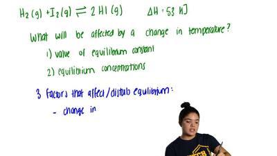 Consider this gas-phase reaction.  H2(g) + I2(g)⇋ 2 HI (g)        Δ...