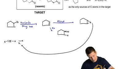Prepare the target molecules from the given starting materials. ...