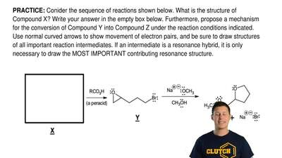 Conider the sequence of reactions shown below. What is the structure of Compou...