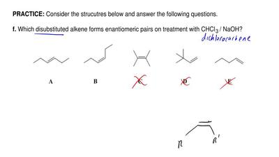 Consider the strucutres below and answer the following questions.   f. Which d...