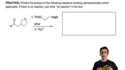 Predict the product of the following reactions showing stereochemistry when ap...