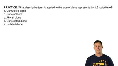 What descriptive term is applied to the type of diene represente by 1,5 -octad...