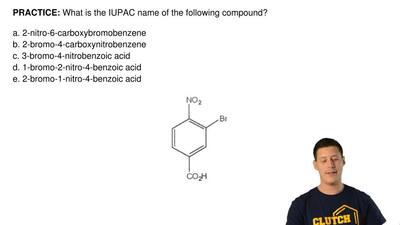 What is the IUPAC name of the following compound?  a. 2-nitro-6-carboxybromobe...