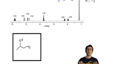 Draw the structure of the compound that produces the1H-NMR spectrum below. Th...