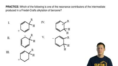 Which of the following is one of the resonance contributors of the intermediat...