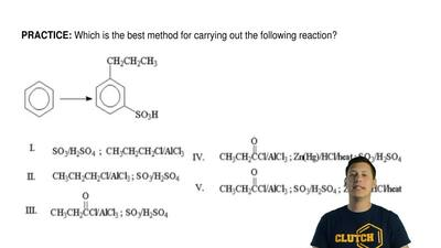 Which is the best method for carrying out the following reaction? ...