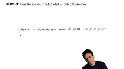 Does the equilibrium lie to the left or right? (Choose one)       ...