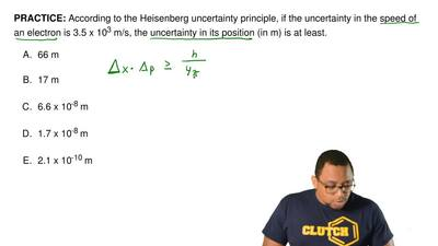 According to the Heisenberg uncertainty principle, if the uncertainty in the s...