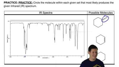 Circle the molecule within each given set that most likely produces the given ...