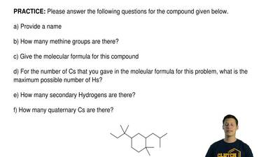 Please answer the following questions for the compound given below.  a) Provid...