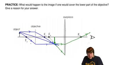 What would happen to the image if one would cover the lower part of the object...