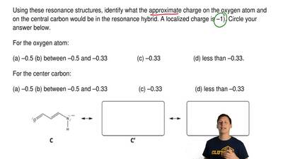 Write two additional resonance structures that are significant for the hydroca...