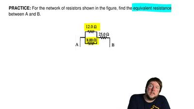 For the network of resistors shown in the figure, find the equivalent resistan...