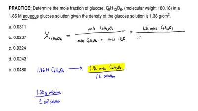 how to find mole fraction in vapor phase