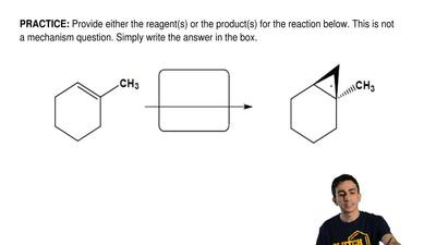 Provide either the reagent(s) or the product(s) for the reaction below. This i...