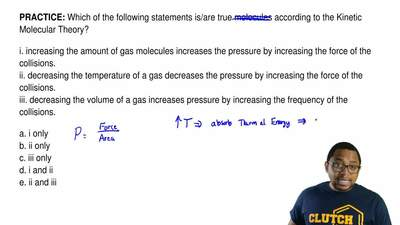 Which of the following statements is/are true molecules according to the Kinet...