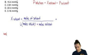 What is the vapor pressure of a solution made by dissolving 79.3 g of glycero...