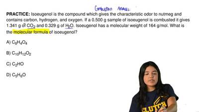 Isoeugenol is the compound which gives the characteristic odor to nutmeg and c...