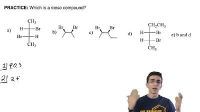 Which is a meso compound? ...