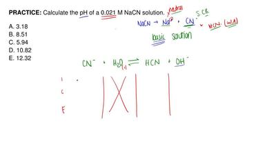 Solution: Assuming Equal Concentrations, R... | Clutch Prep