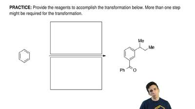 Provide the reagents to accomplish the transformation below. More than one ste...