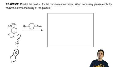 Predict the product for the transformation below. When necessary please explic...