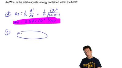 An open MRI scanner can produce a magnetic field strength of up to 3 T. If the...