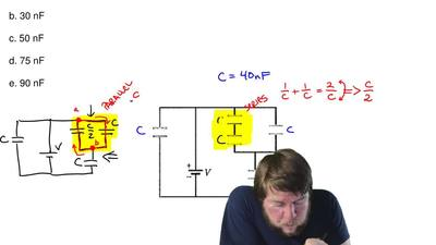 What is the equivalent capacitance of the five capacitors? All capacitors are ...