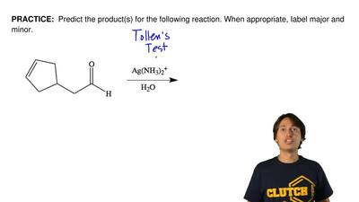 Predict the product(s) forthe following reaction. When appropriate, Iabel ma...
