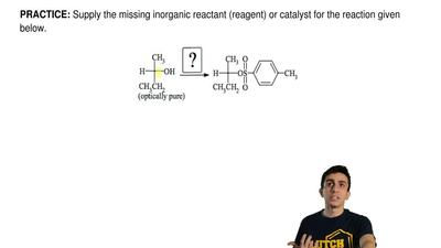 Supply the missing inorganic reactant (reagent) or catalyst for the reaction g...