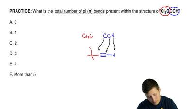 What is the total number of pi (π) bonds present within the structure of Cl...