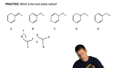 Which is the most stable radical? ...