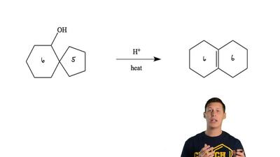 Illustrate the mechanism for the following reaction. Indicate all arrows and s...