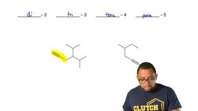 NAMING ALKYNES  Naming an alkyne is similar to naming an alkane with a few dif...
