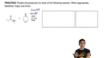 Predict the product(s) for each of the following reaction. When appropriate, l...